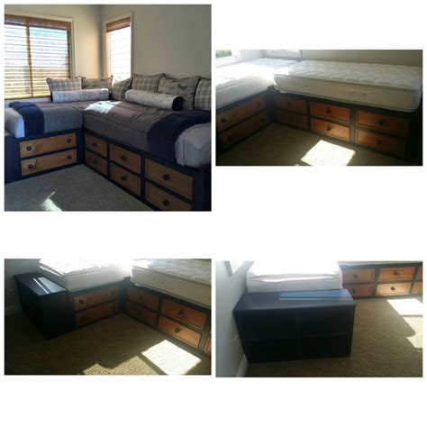 2 twin beds together the avalon corner bed is two twin beds together in the