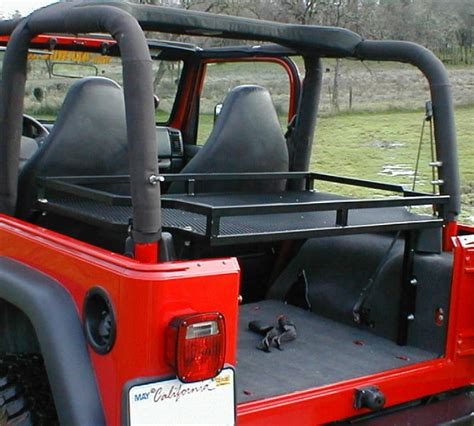 Jeep Jk Rear Cargo Rack Jeep Jk Rear Cargo Rack Pictures To Pin On