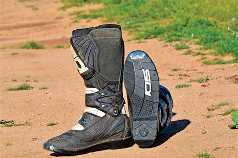 motocross boot repair dirt bike magazine mx boot repair sidi x 3 resole