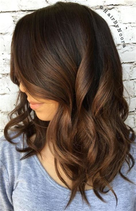 hairstyling products that temperaily give brunette hair warm brown tones chocolate brown hair colors for 2017 haircuts