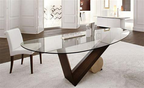 salle a manger atlas table en verre design salle a manger table de sejour ronde
