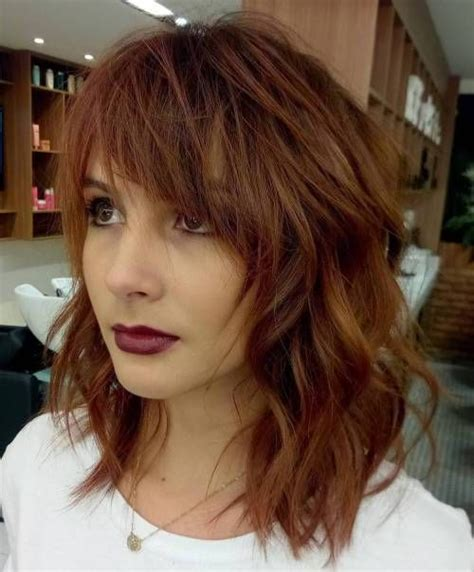 hairstyles with messy bangs 20 modern ways to style a long bob with bangs messy