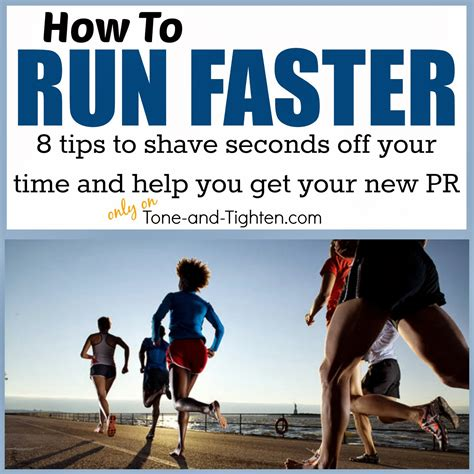 To Run by How To Run Faster 8 Tips To Help You Get Your Pr This
