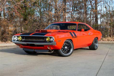 1970 Dodge Challenger Hemi Orange Hardtop 528 Hemi V8 5