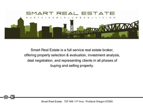 smart real estate listing slides