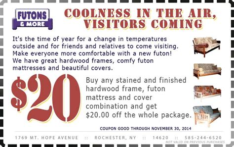 futons and more rochester ny coupon for futons n more in rochester ny futons more