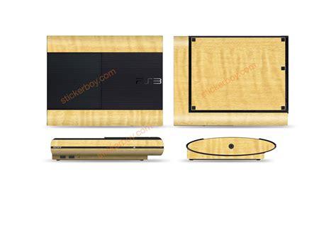 Hair Dryer Ylod Ps3 playstation 3 slim wood series stickerboy skins