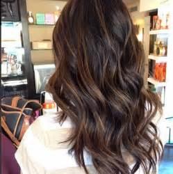hair highlights 2015 balayage hairstyles for long dark hair