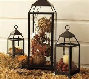 Lanterns For Home Decor by 59 Fall Lanterns For Outdoor And Indoor D 233 Cor Digsdigs