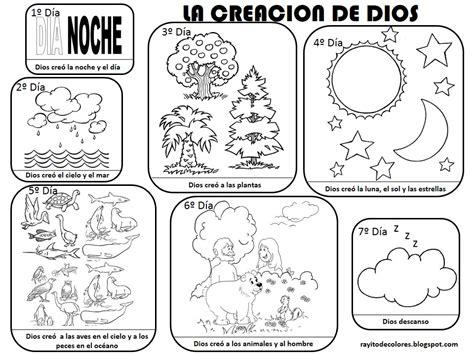 imagenes biblicas en pdf compartiendo por amor dibujos creaci 243 n de dios