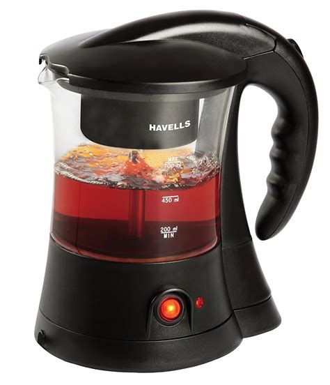 Coffee And Tea Maker havells 600 watt stainless steel tea and coffee