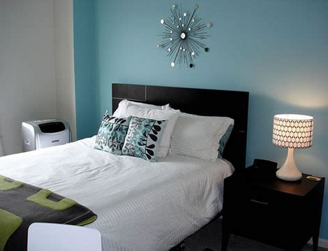 blue and black bedroom modern home interior design black and white and blue