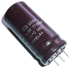 Nippon Chemicon Lxz Electrolytic Capacitor 820uf10v 7700uf 6 3v radial electrolytic capacitor nippon chemi con urza
