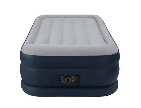 intex deluxe pillow rest raised soft flocked air mattress 67731e ebay