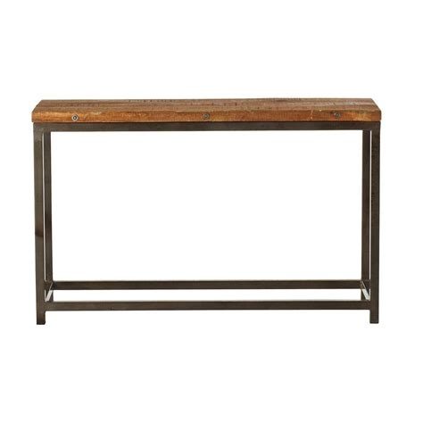 home decorators console table home decorators collection holbrook natural console table
