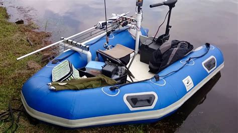inflatable fishing boat video inflatable boat used for bass fishing youtube