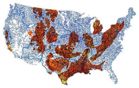 fracking usa map what the frack these maps show where you shouldn t drink