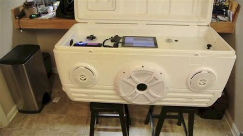 big boat speakers ice chest speaker cooler part 1 of 2 youtube
