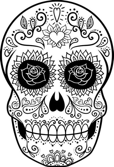 Imagenes De Calaveras Niñas | dibujos de calaveras para imprimir amazing imprimir