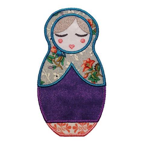 doll embroidery design anoushka babushka doll machine embroidery by