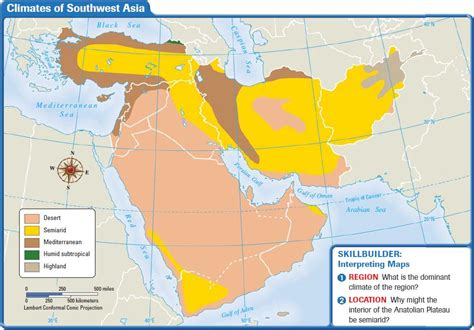 Square Miles To Square Feet by Southwest Asia Climate And Vegetation