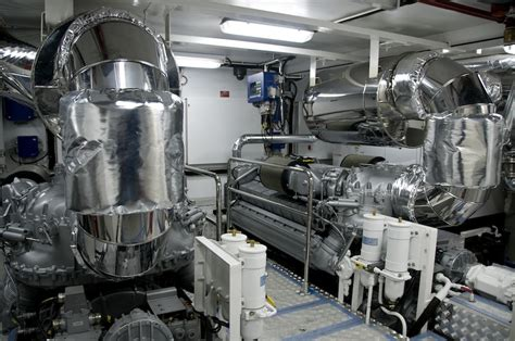 The Engine Room by Luxury Yacht Charter Rl Noor Noor Engine Room