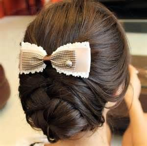 easy hairstyles for waitress s blonde bow braids cool image 710678 on favim com