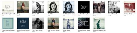 taylor swift discography itunes m4a birdy discography itunes plus aac m4a m4v itunes
