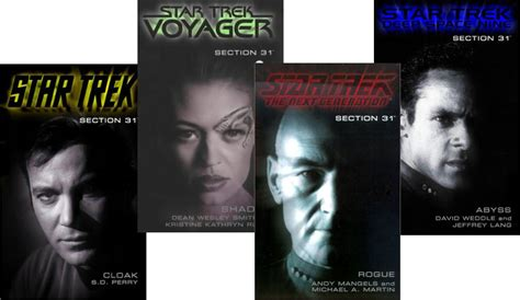 ds9 section 31 star trek section 31 books trek mate