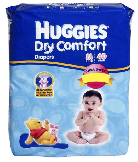 comfort for baby diapers buy huggies dry comfort m 40 5 11kg online in india