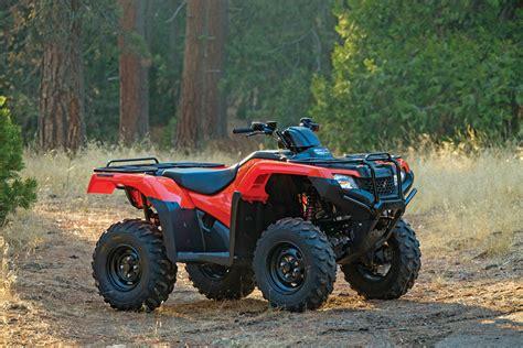 Honda Rancher by Dirt Wheels Magazine 2015 Honda Rancher 420 4 215 4