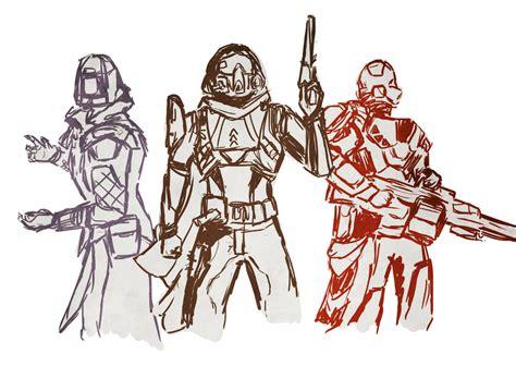 Destiny 2 Sketches by Destiny Sketch 2 By Taylderp On Deviantart