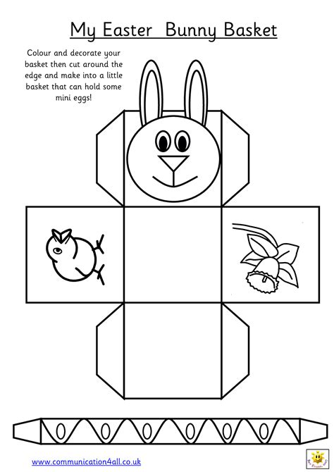 easter box templates free easter egg basket template 712belae stuff