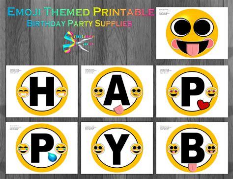 printable emoji banner printable alphabet letters templates stencils that