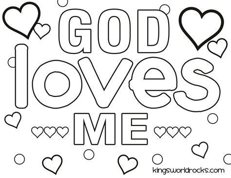 coloring pages on love from god god loves me coloring page kw curriculum ideas