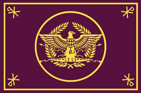 ancient roman empire flag my take on a roman empire flag vexillology