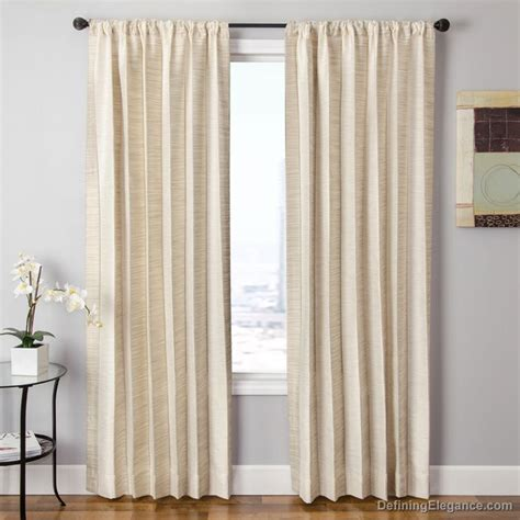 striped drapery panels softline home fashions drapery tuscany stripe panel