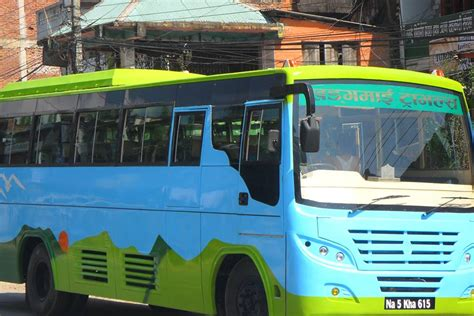 comfortable bus comfortable bus service from kathmandu to beshishar
