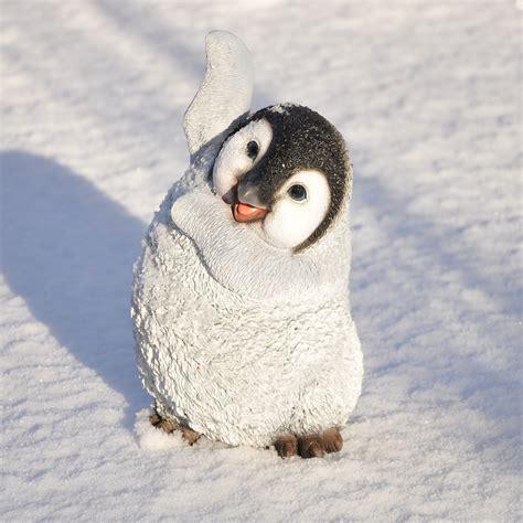 St Pinguin 50 nanook gartenfigur deko figur tierfigur kunststein
