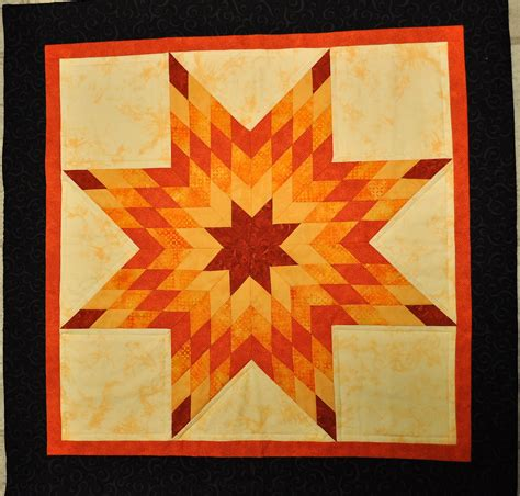 that forthright girl orange lone star quilt