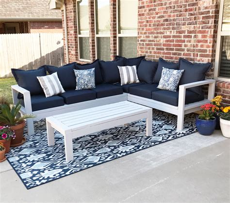 outdoor sofa ana white