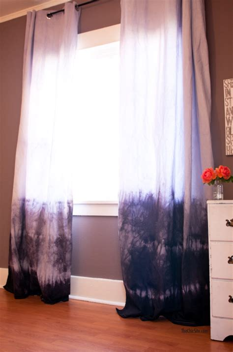 dip dye curtains colorful dip dye ombre curtains for every room