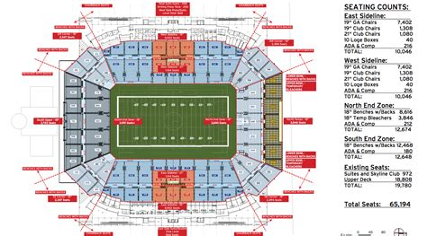 bowl seating view citrus bowl seating views myideasbedroom