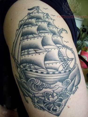 navy ship tattoo designs pirate traditional ship
