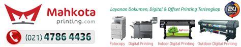 Printer Banner Murah mahkota printing spanduk cepat 24 jam langsung jadi i spanduk murah jakarta dan percetakan