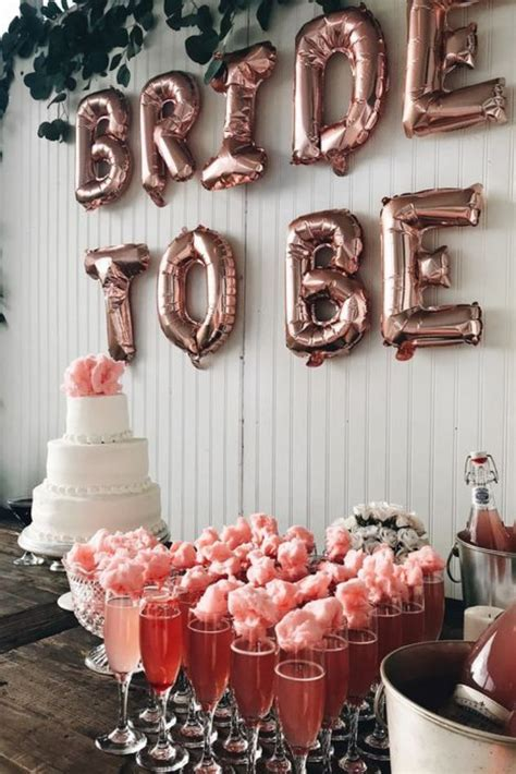 fancy bridal shower bachelorette party decorations
