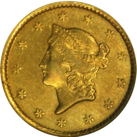 1849 liberty head gold 1 coin values and prices past sales coinvalues com