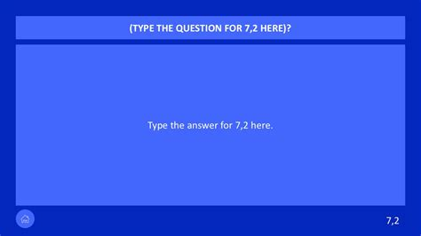 Powerpoint Jeopardy Buzzer For Game Shows Slidemodel Show Powerpoint Template