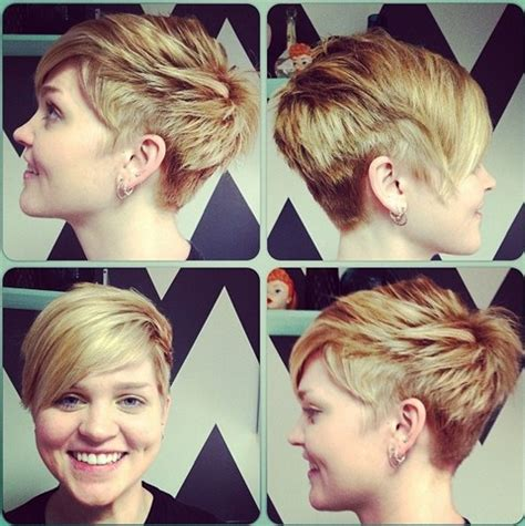 tures of pixi haircuts back sides and front cool short layered pixie cut with long side swept bangs