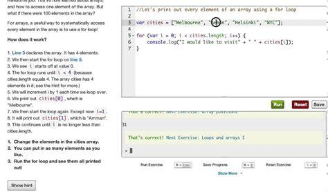 tutorial javascript for loop javascript arrays and loops codecademy youtube